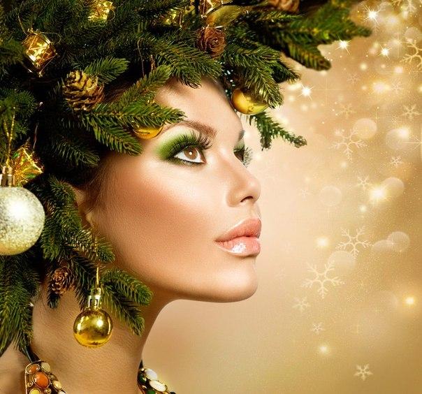 Варианты модного новогоднего макияжа 2015