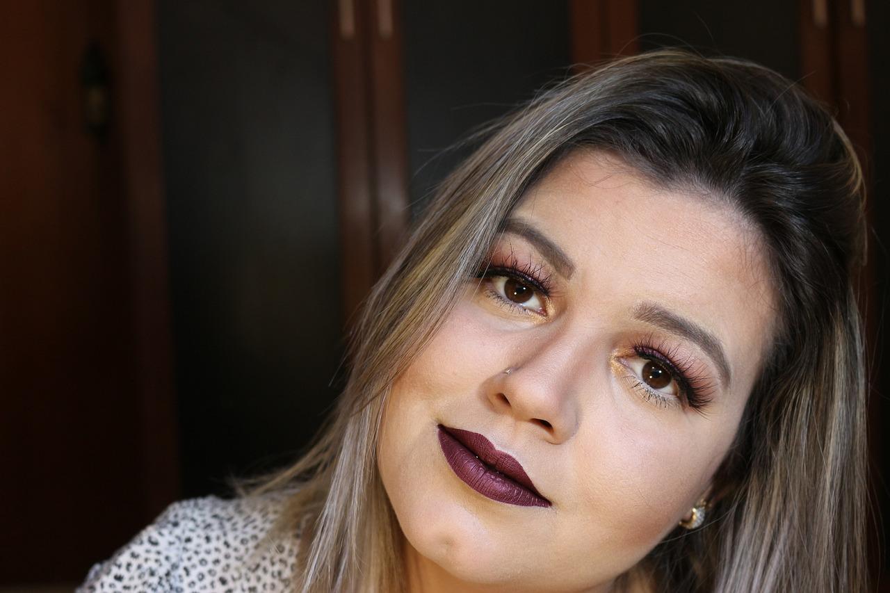 Бархатные губы - макияж