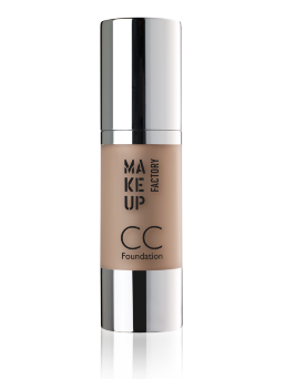СС крем Make Up Factory CC-Foundation т.15 натуральный
