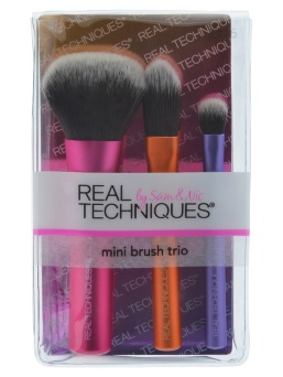 Набор мини кистей Real Techniques Mini Brush Trio