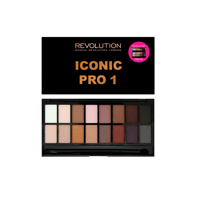 Палетка теней Makeup Revolution Iconic Pro 1