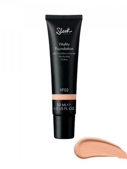 Тональная основа Sleek MakeUP Vitality Foundation VF02