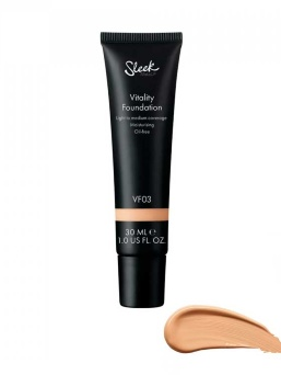 Тональная основа Sleek MakeUP Vitality Foundation VF03