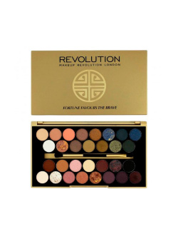 Палетка теней Makeup Revolution 30 Eyeshadow Palette Fortune Favours The Brave