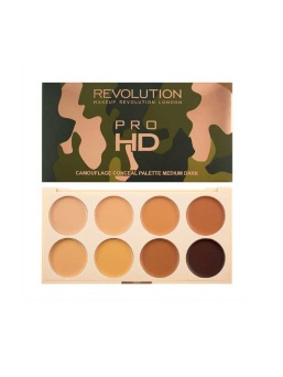Палетка консилеров Makeup Revolution Ultra Pro HD Camouflage Medium Dark